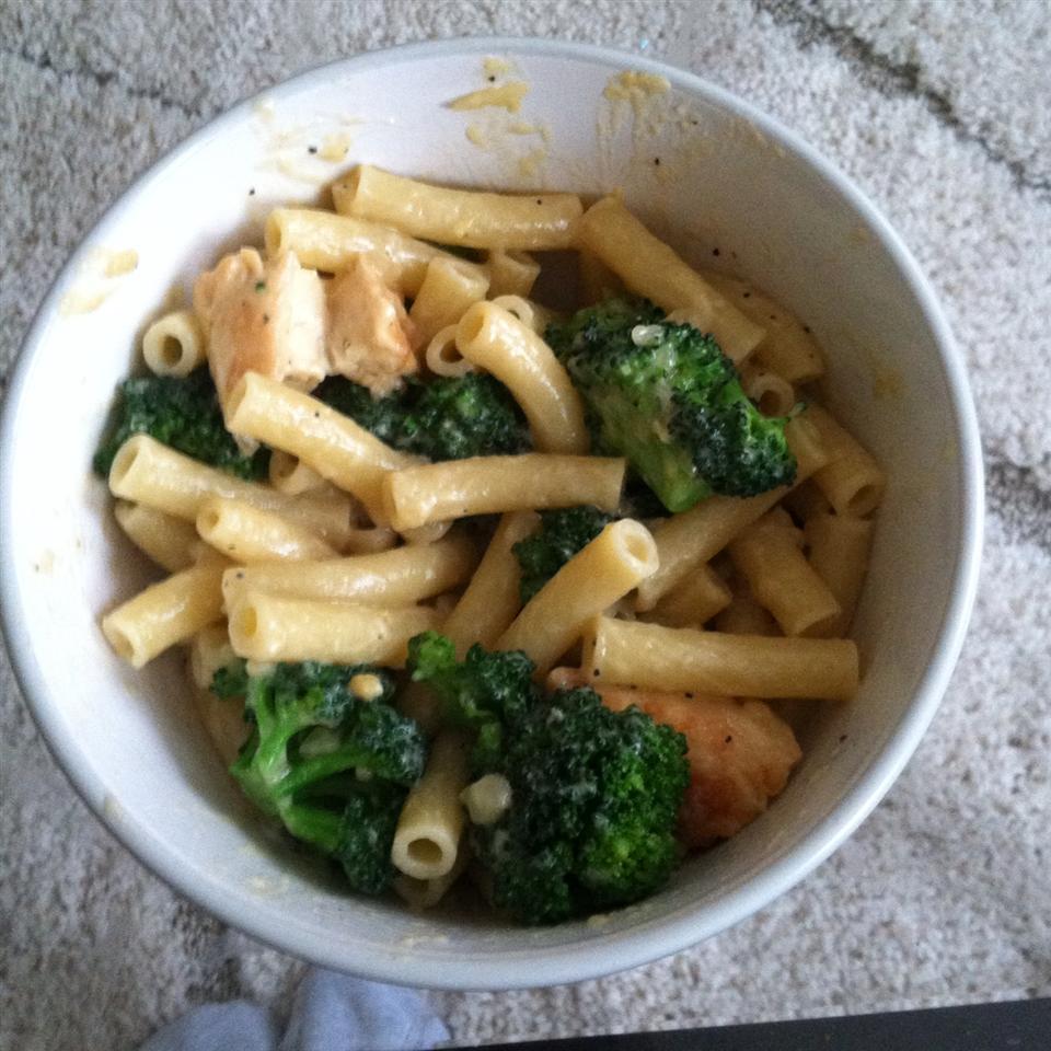 Ziti Chicken and Broccoli