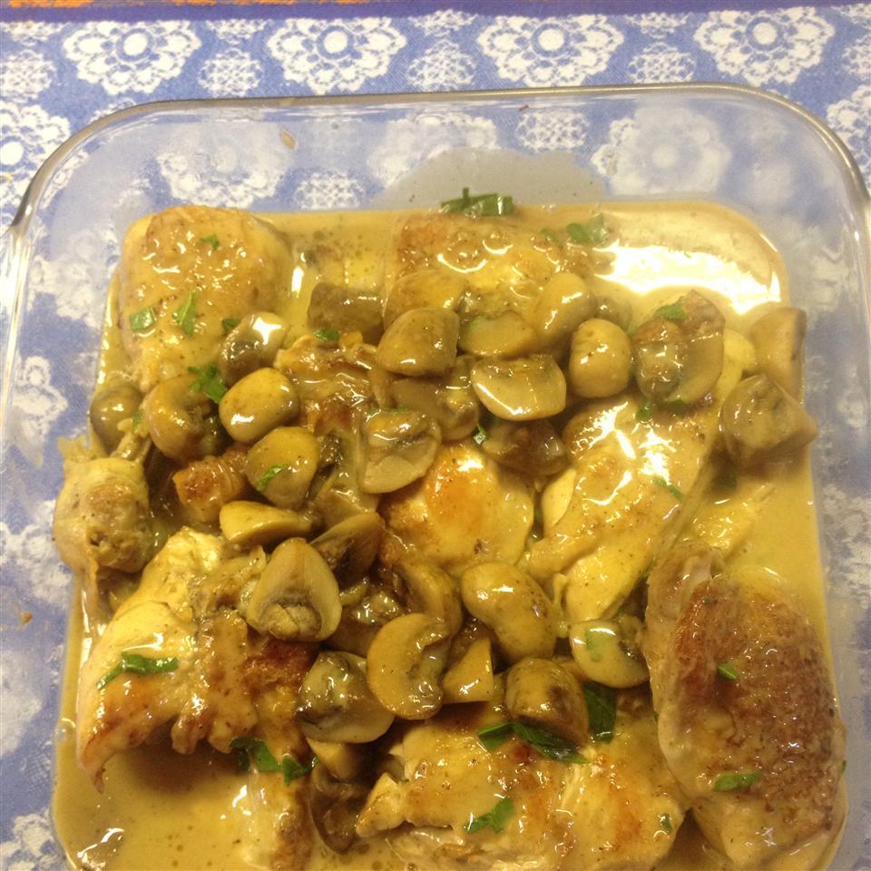 Petite Blanquette de Poulet a l'Estragon (Tarragon Chicken) bart