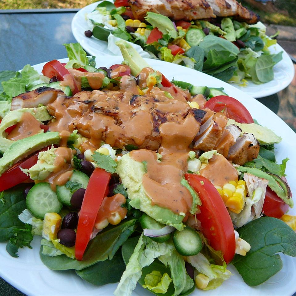Amy's Barbecue Chicken Salad Molly