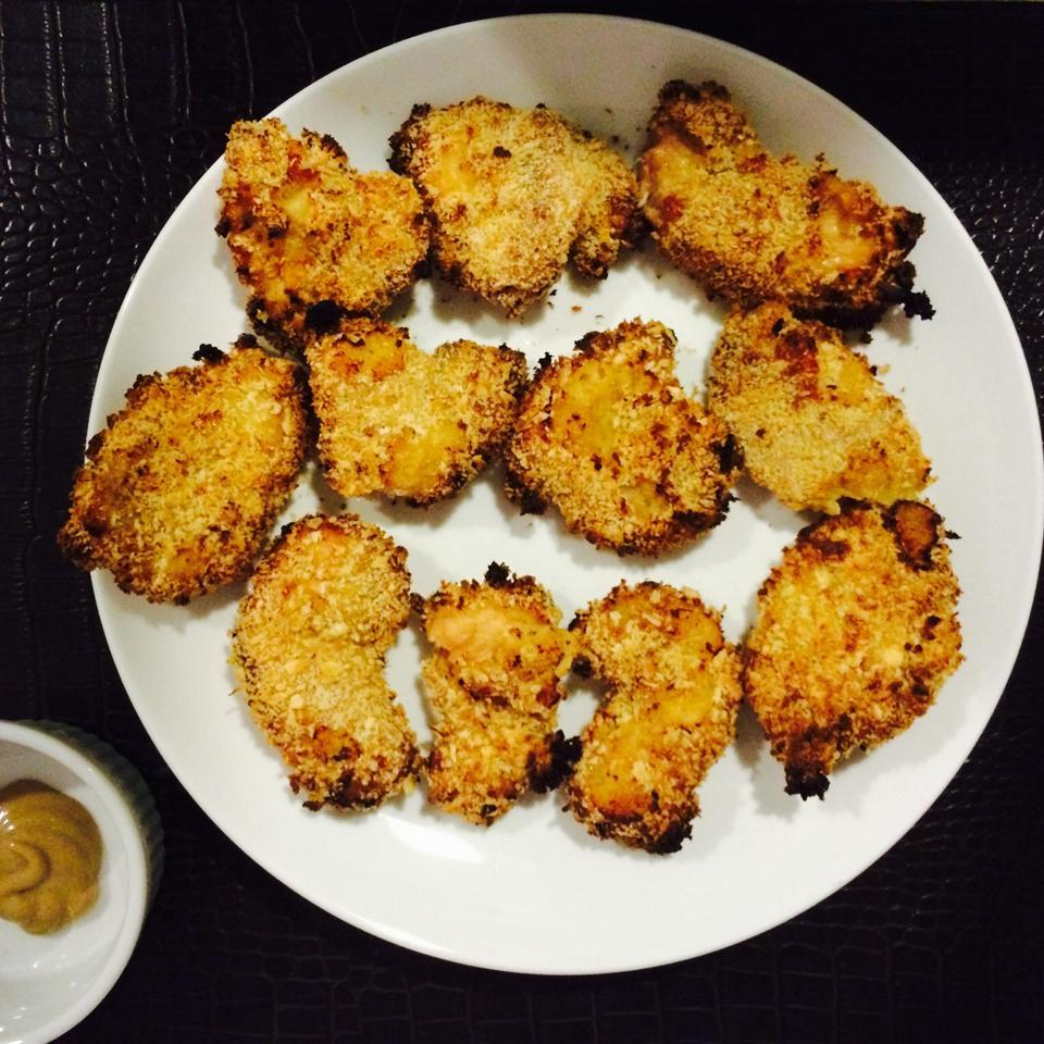 Honey Mustard Oven-Baked Chicken Tenders jasminev