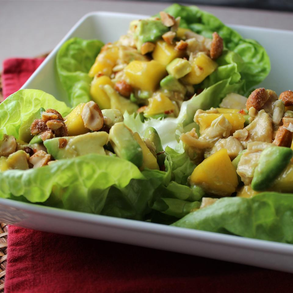 Chicken, Avocado and Mango Salad GREENLIME