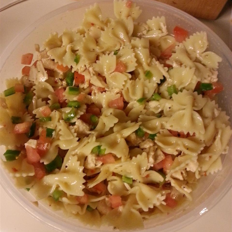 Italian Chicken Bow Tie Pasta MrsChamoun
