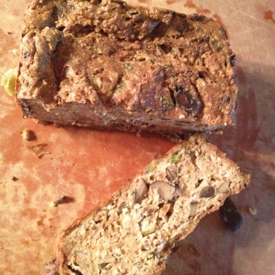 Vegetarian Tofu and Nut Loaf