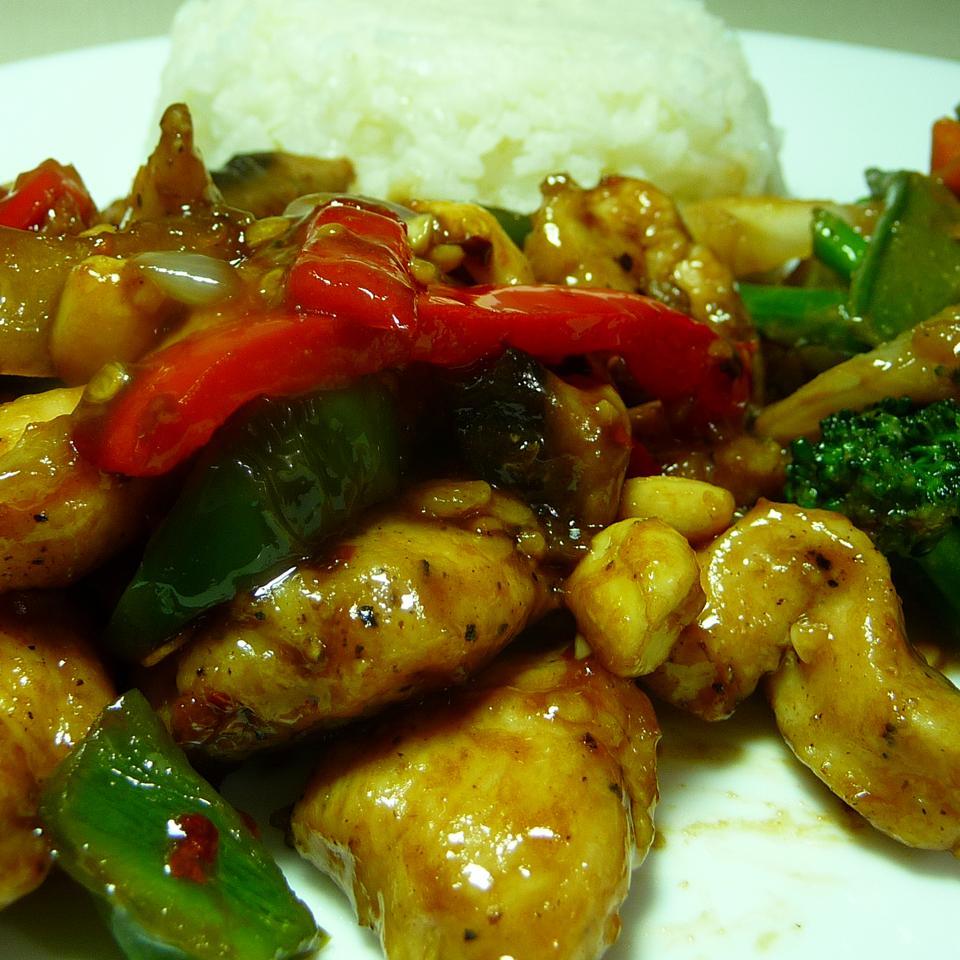 Kung Pao Chicken Stir-Fry Kraig