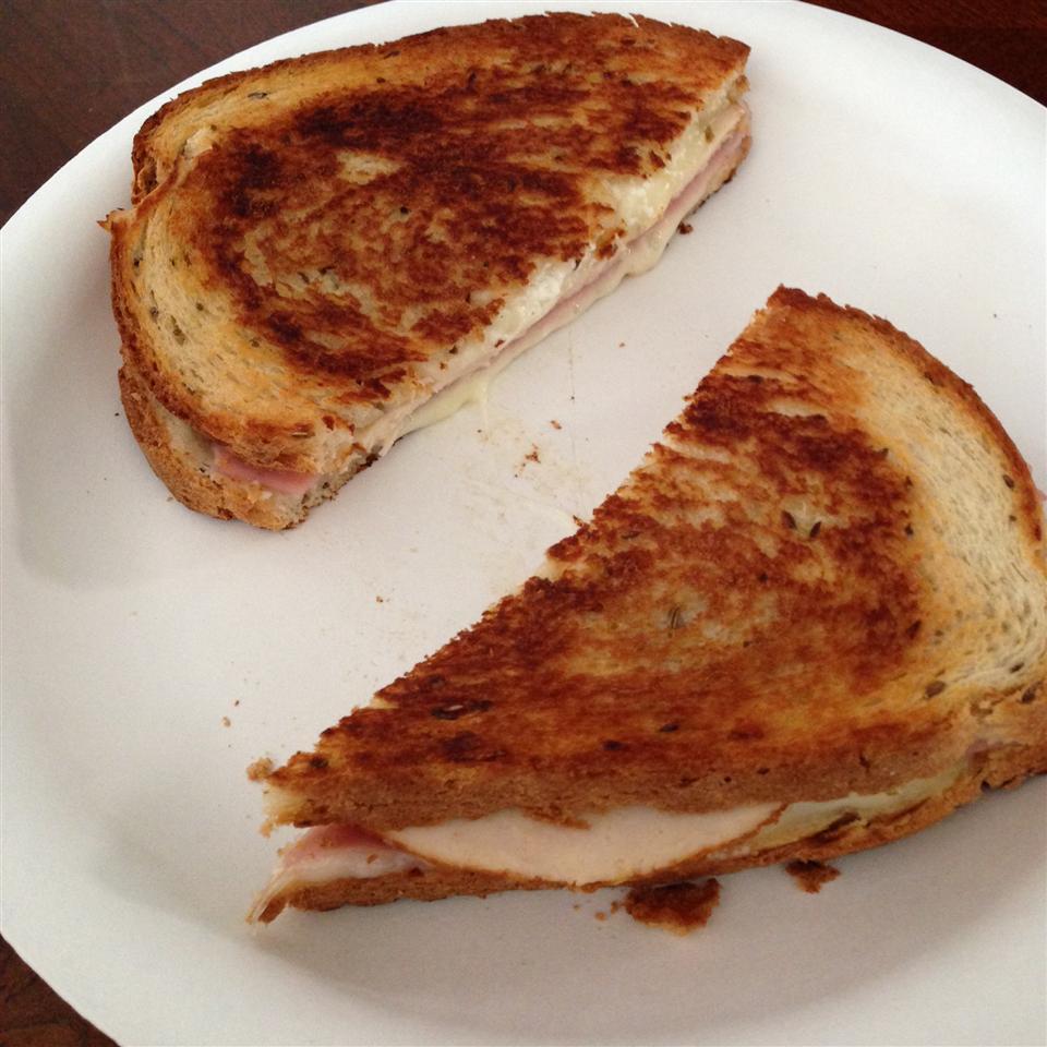 Grilled Chicken Cordon Bleu Sandwiches Deirdre Dee
