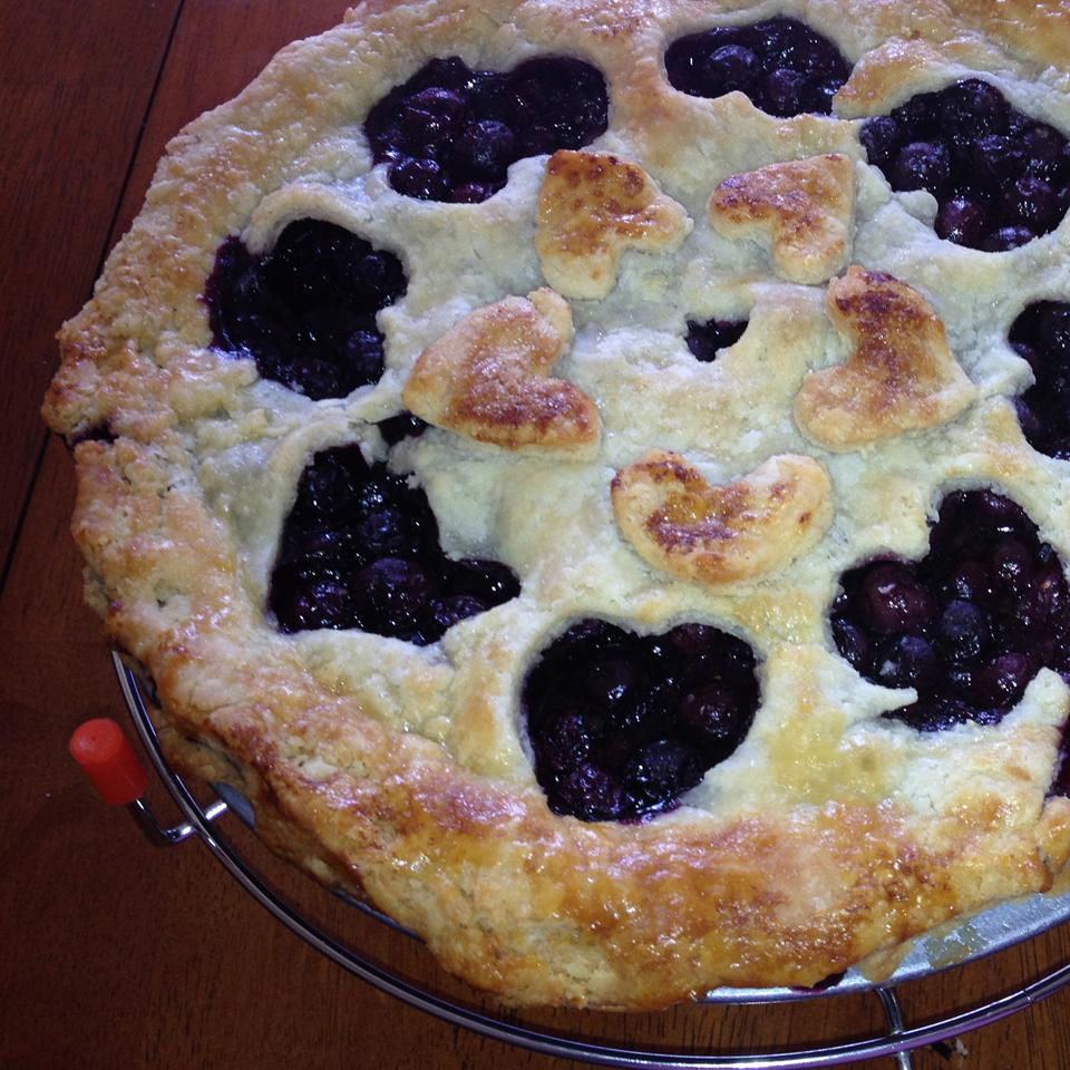Grandma's Blueberry Pie