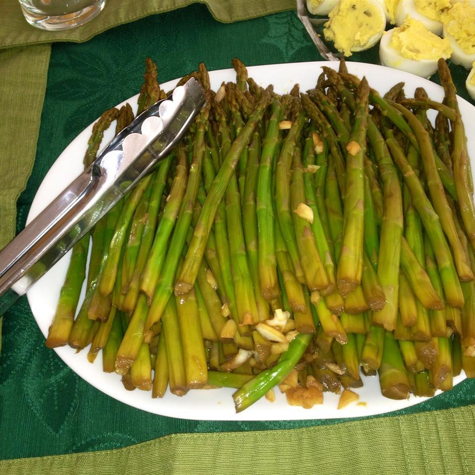 Asian Marinated Asparagus