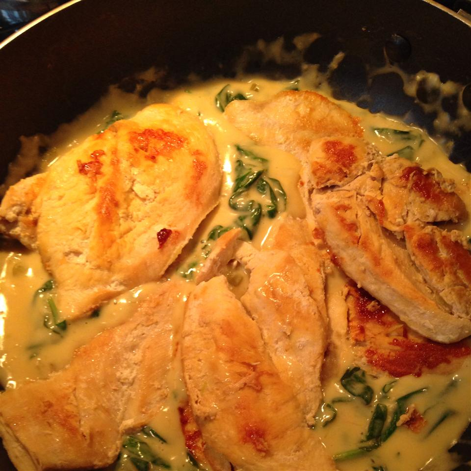 Lemon Chicken Scallopini with Spinach jenmac1975