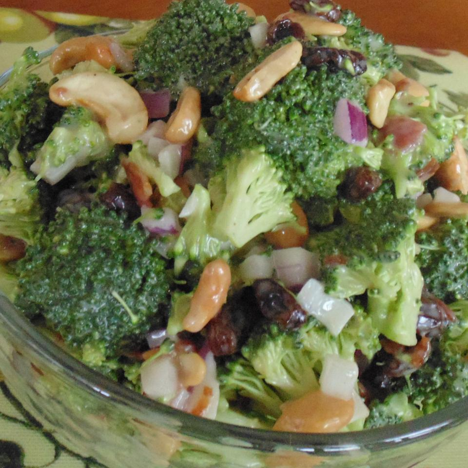 Sweet and Savory Broccoli Salad Eric Bassett