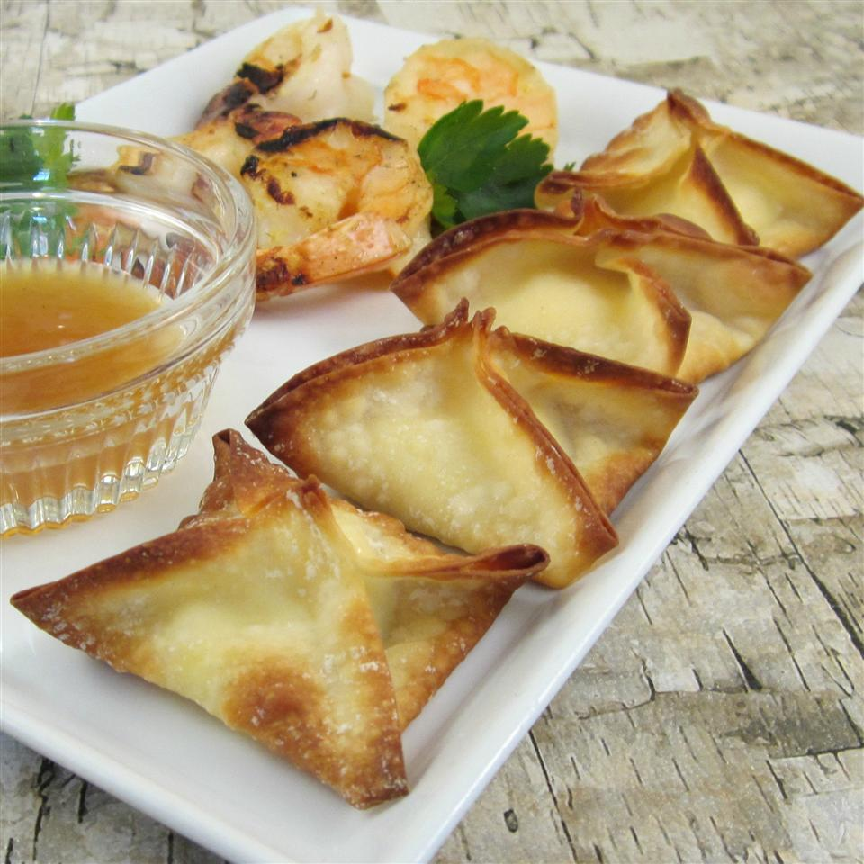 Baked Cream Cheese Wontons - Printer Friendly