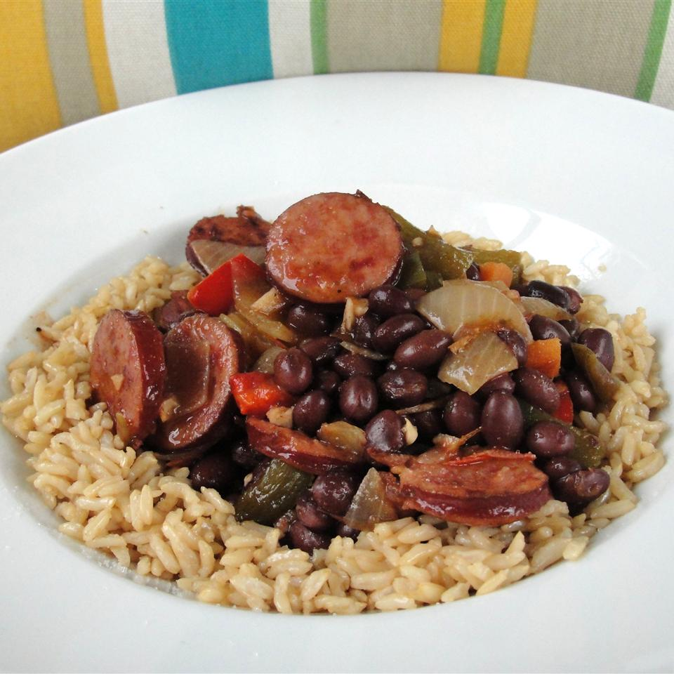 Pacific Cuban Black Beans and Rice