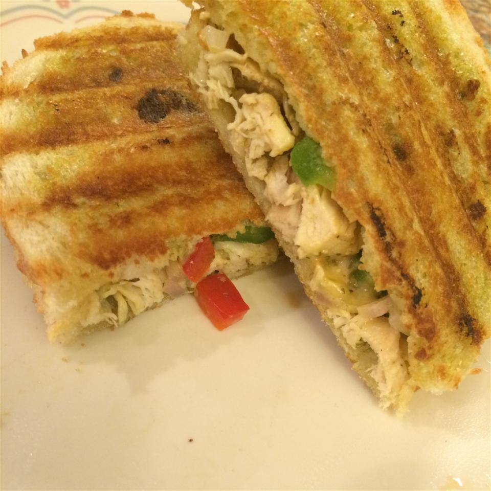 Chicken Pesto Paninis