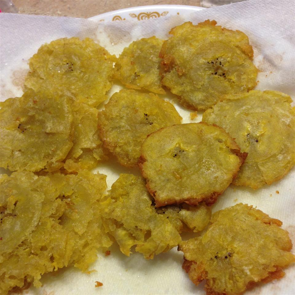Puerto Rican Tostones Fried Plantains Recipe Allrecipes