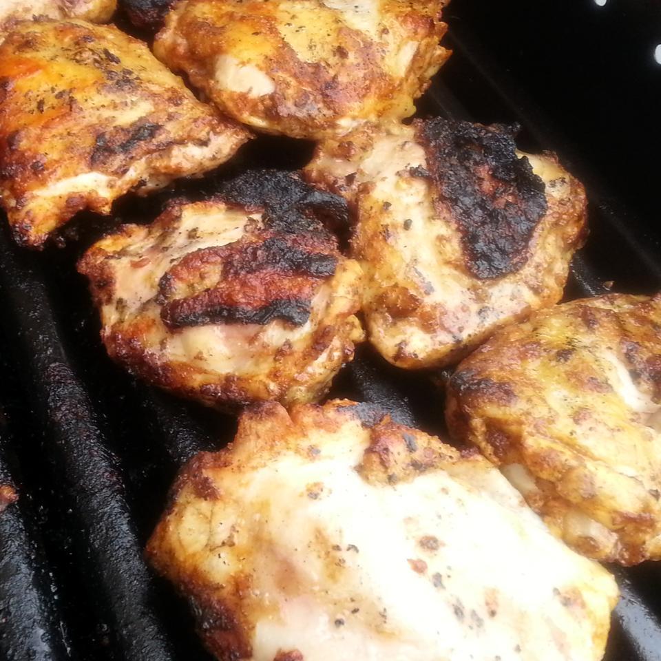 Grilled Chicken Thighs Tandoori Kitchen Kitty