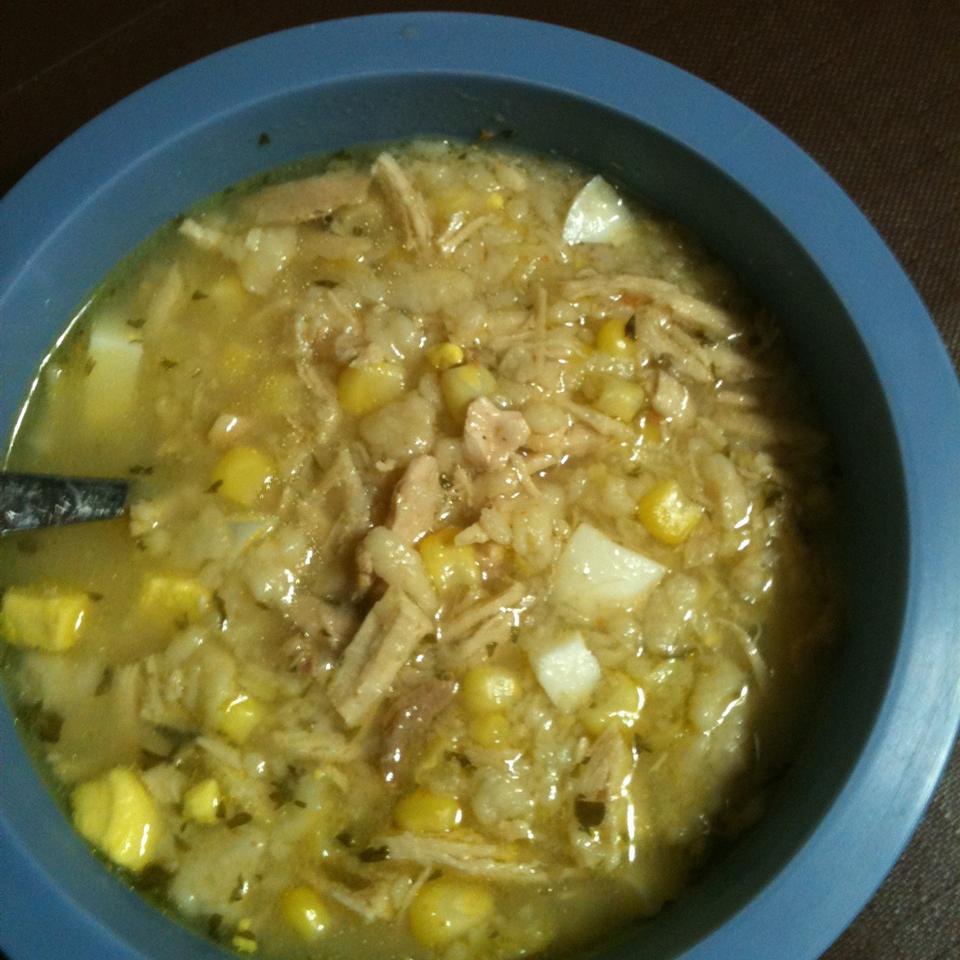 Chicken Corn Soup I aussomemomof1