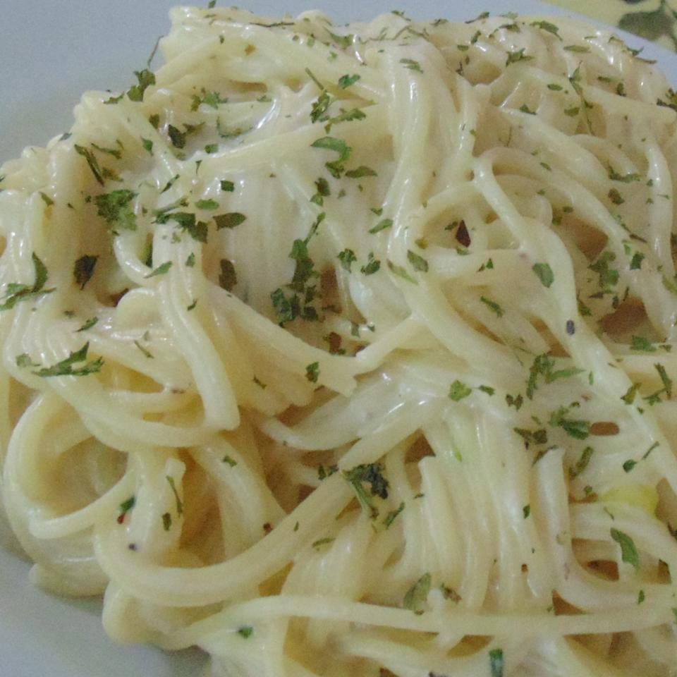 Angel Hair Pasta With Gorgonzola Sauce Recipe Allrecipes
