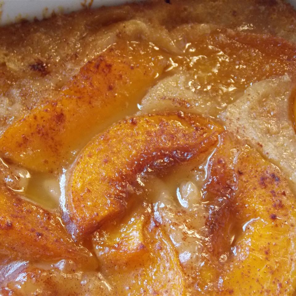 California Peach Cobbler