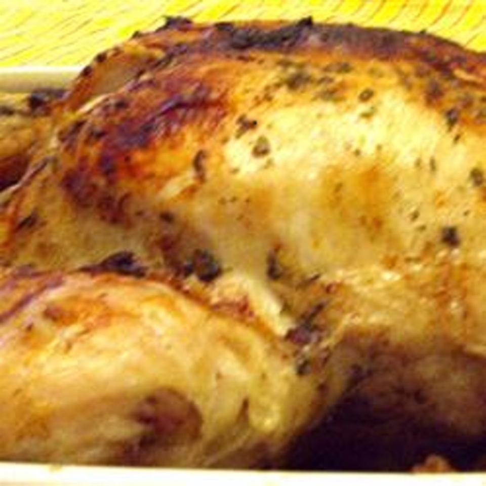 Olive Oil Pressure-Cooked Whole Roasted Chicken emilyv