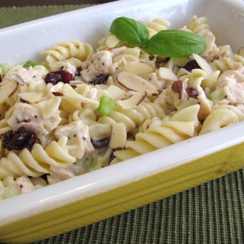 Poppy Seed Chicken Pasta Salad lee jean