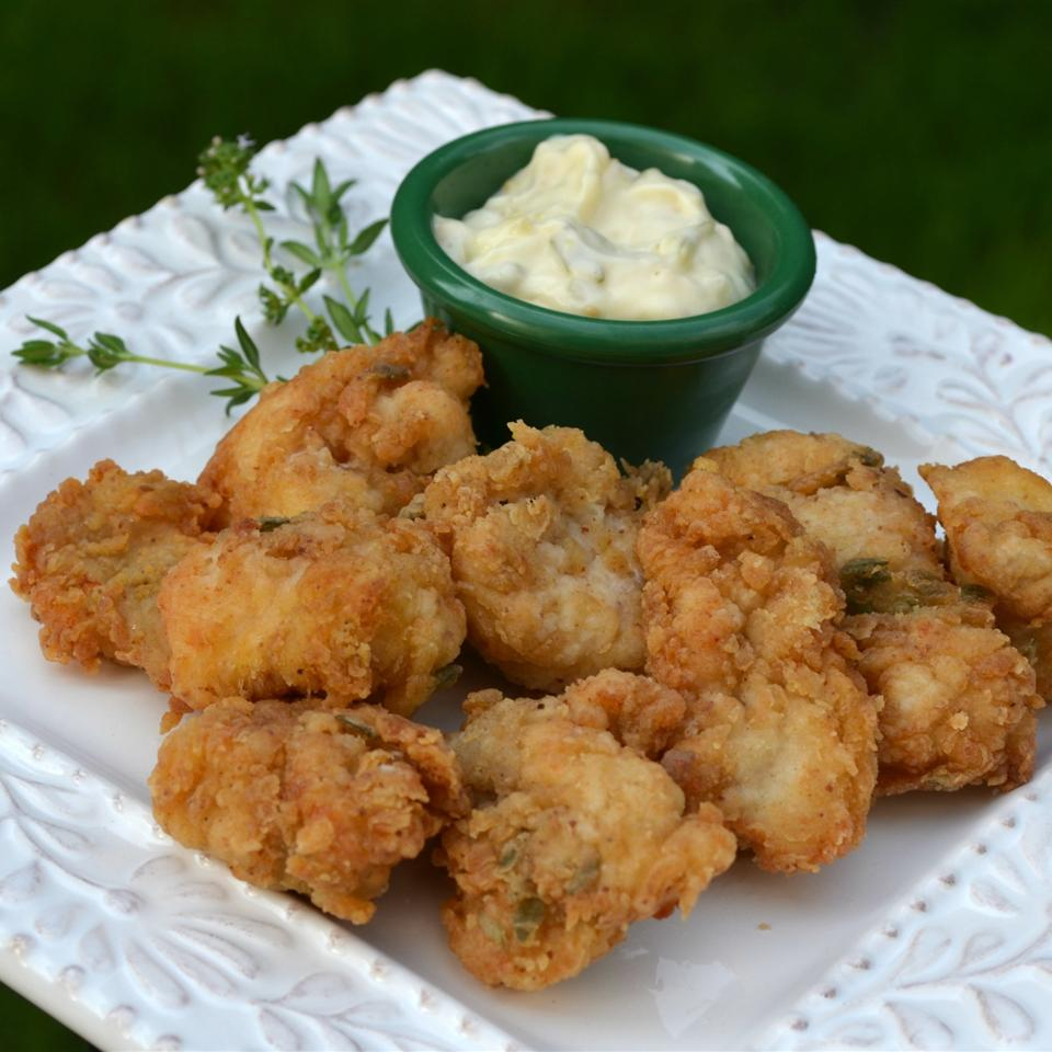 Fried Catfish Nuggets