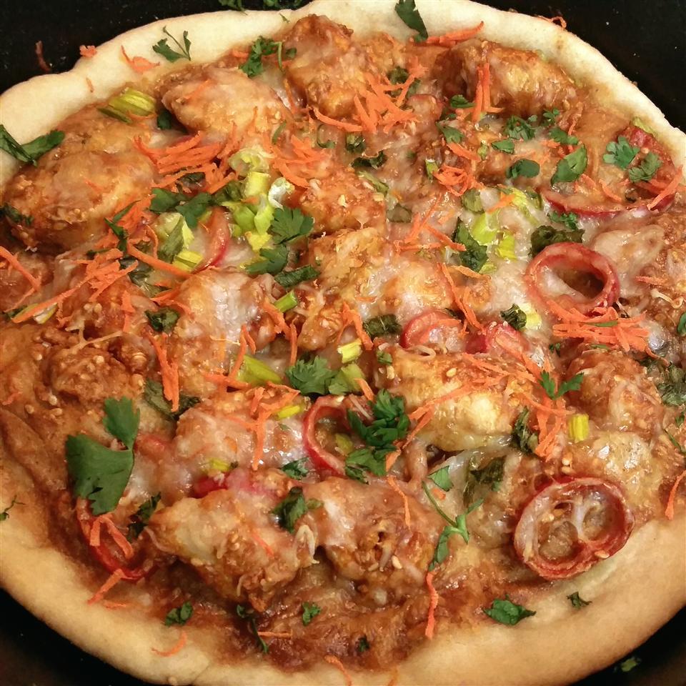 Gourmet Thai Chicken Pizza Shyla Lane
