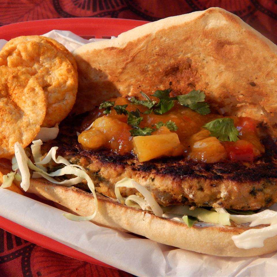Tandoori Chicken Burgers