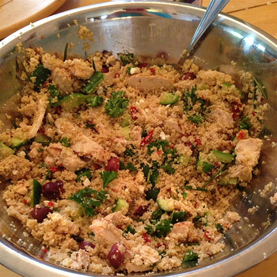 Rosemary Chicken Couscous Salad spaceofgrace