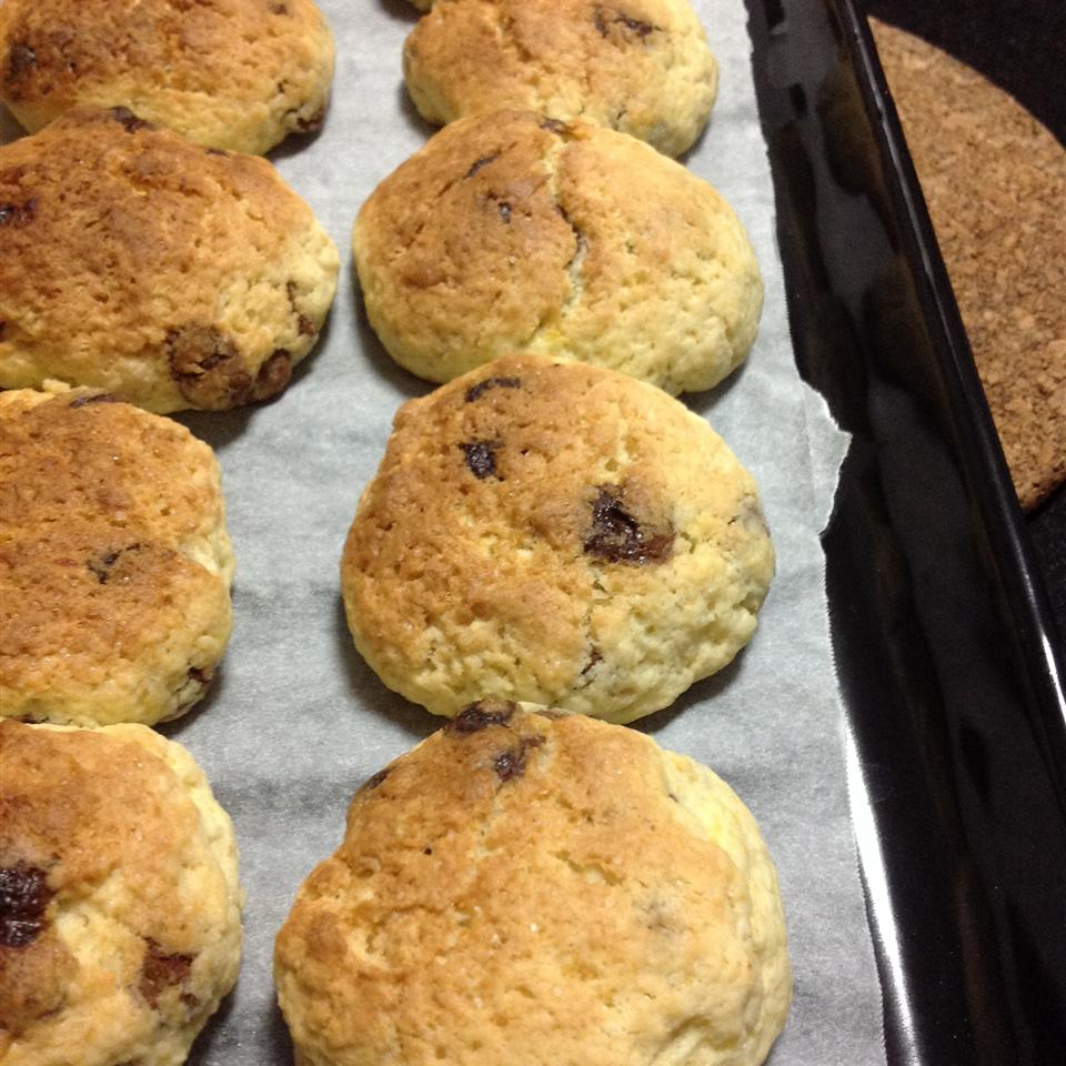 Chocolate Chip and Cranberry Scones