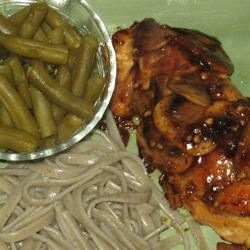 Chicken Breasts with Balsamic Vinegar and Garlic Holly Dudley