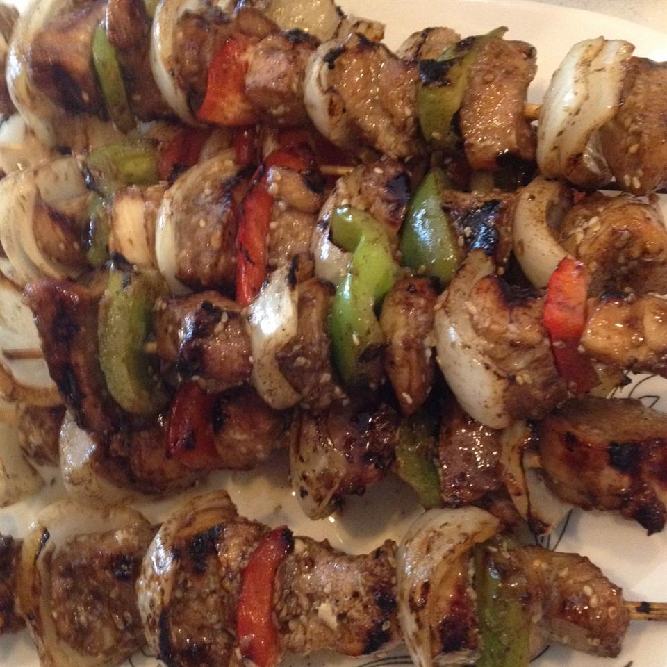 Marinated Chicken Kabobs jzelner