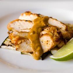 Grilled Peanut Chicken chibi chef