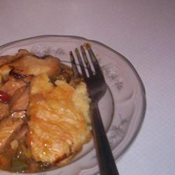 Chicken Honey Mustard Pie ONIOND