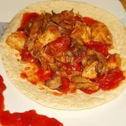 Chicken and Bacon Fajitas