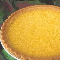 Mock Coconut Pie (Spaghetti Squash Pie)