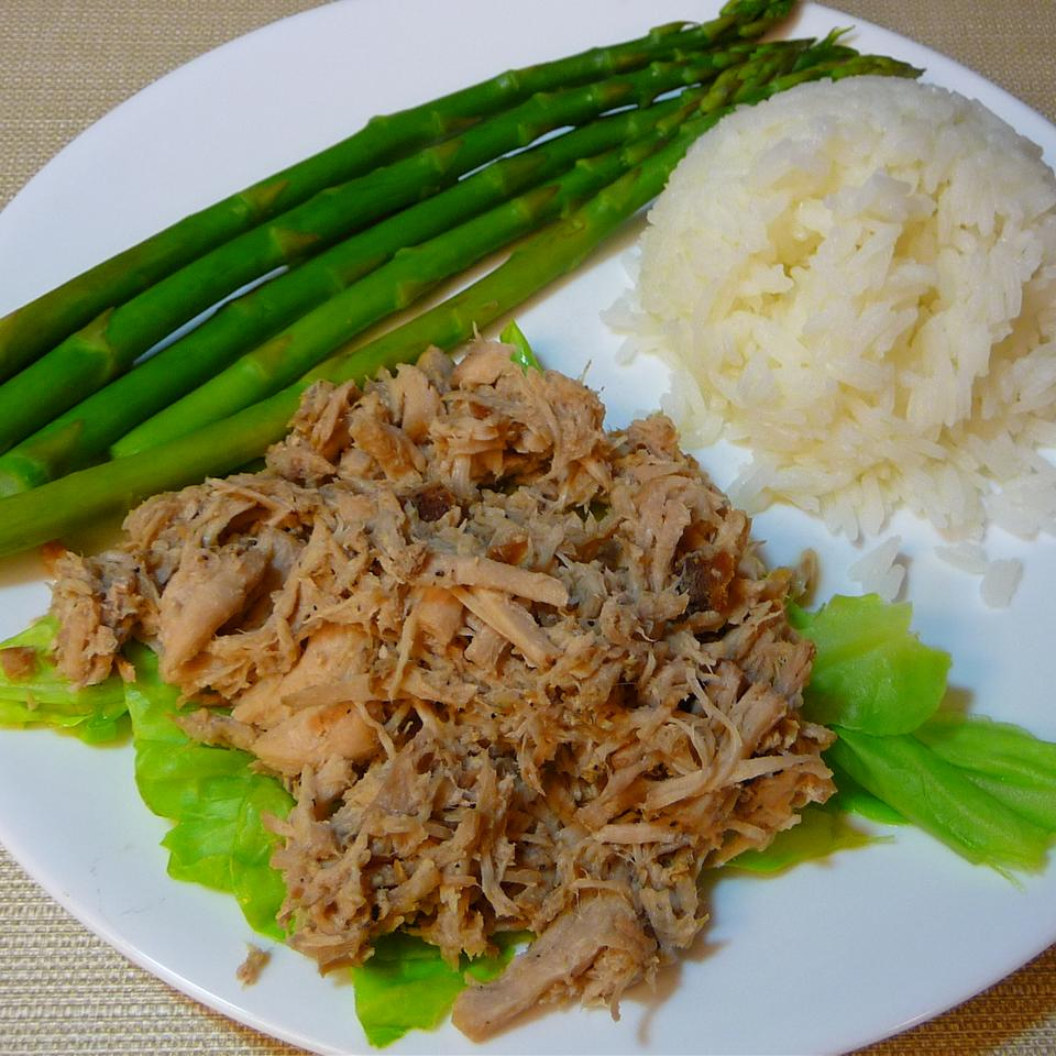 Homestyle Kalua Pork with Cabbage in a Slow Cooker