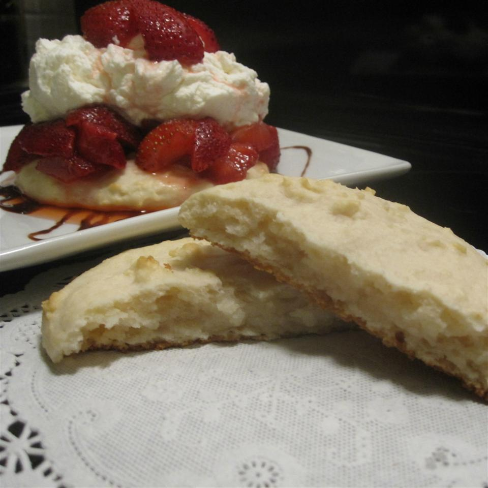 Cream Cheese Shortbread