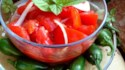 More pictures of Chrissy's Sweet 'n' Sour Tomato Salad
