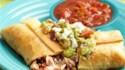 More pictures of Chicken Chimichangas with Chunky Guacamole