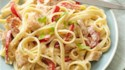 More pictures of Creamy Fettuccine Alfredo with Chicken and Bell Peppers