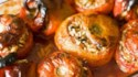 More pictures of Greek Stuffed Tomatoes and Peppers (Yemista)