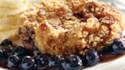 More pictures of Blueberry Streusel Cobbler