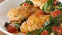 More pictures of Herb Chicken Skillet with Spinach and Tomatoes