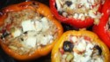 More pictures of Nick's Feta and Artichoke Stuffed Peppers