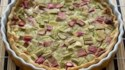 More pictures of Rhubarb Custard Pie IV