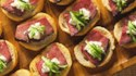 More pictures of Crostini with Beef Tenderloin and Horseradish