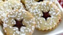 More pictures of Cranberry Cornmeal Linzer Cookies