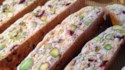 More pictures of Cranberry Pistachio Biscotti