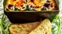 More pictures of Pesto Polenta Lasagna