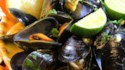 More pictures of Thai Steamed Mussels