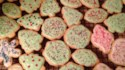 More pictures of Christmas Tree Cookies